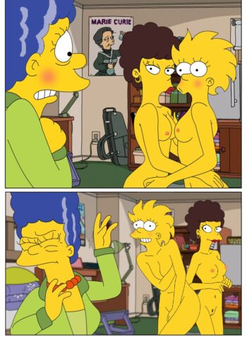 Marge-and-Lisa-Simpsons-go-Lesbian-The-Simpsons-01